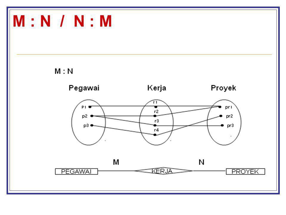 M : N / N : M