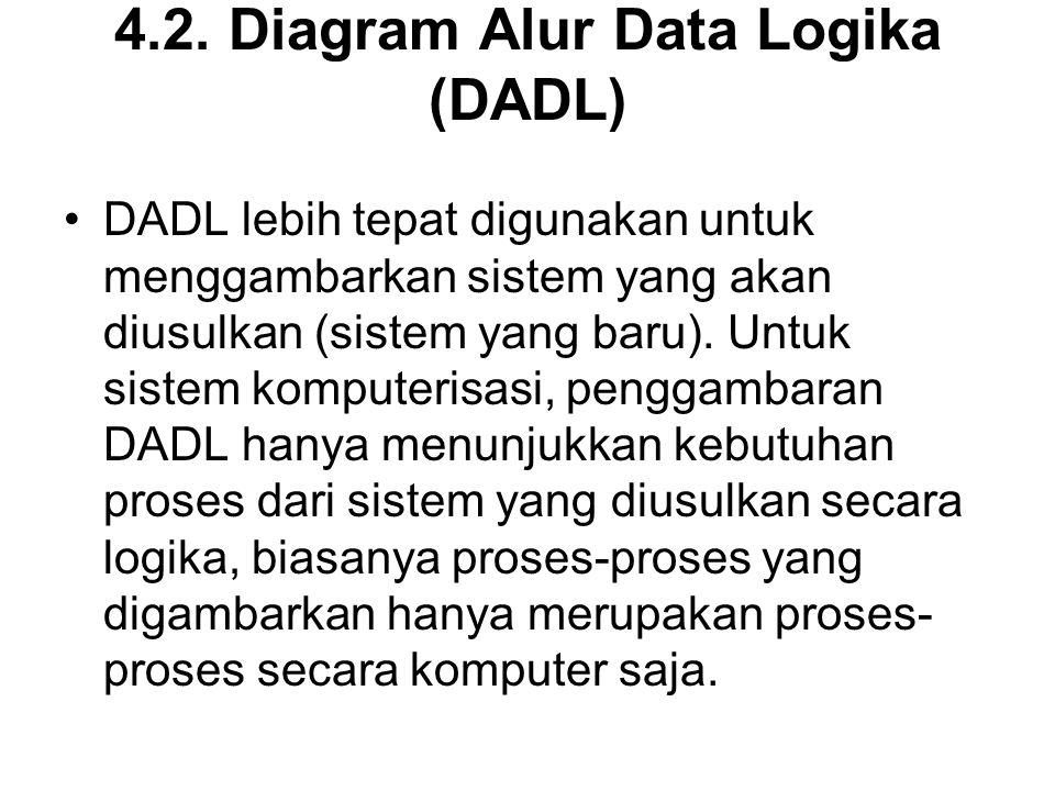 4.2. Diagram Alur Data Logika (DADL)