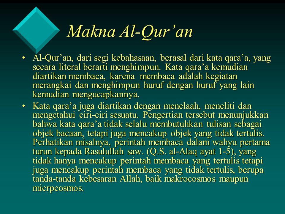 Makna Al-Qur'an