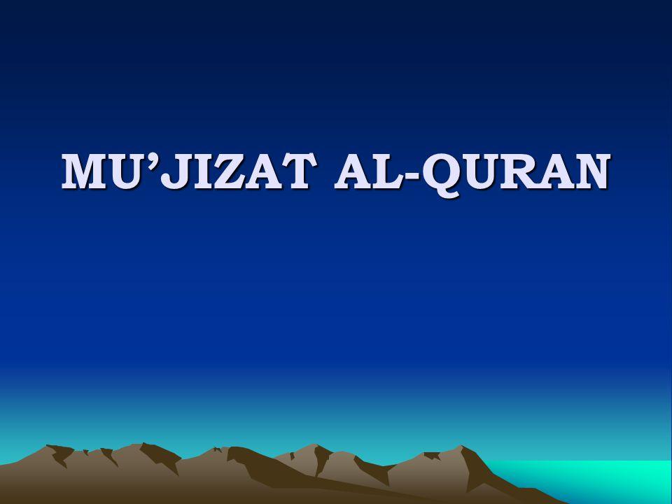 MU'JIZAT AL-QURAN