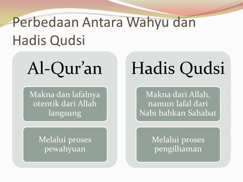 Perbedaan Antara Wahyu dan Hadis Qudsi