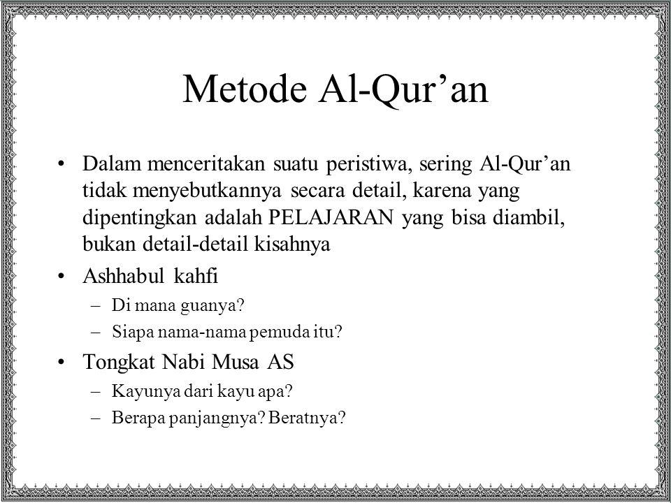 Metode Al-Qur'an