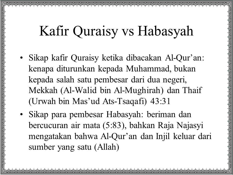 Kafir Quraisy vs Habasyah