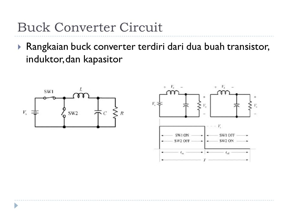 Buck Converter Circuit