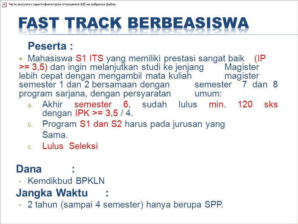 Fast Track Berbeasiswa