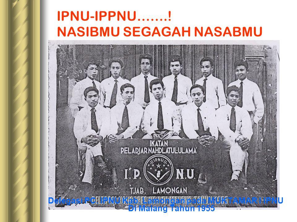 IPNU-IPPNU…….! NASIBMU SEGAGAH NASABMU
