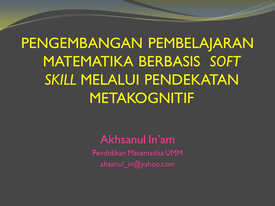 Pendidikan Matematika UMM