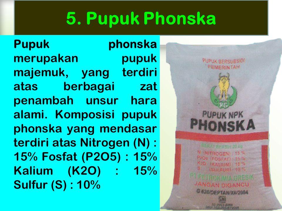 5. Pupuk Phonska