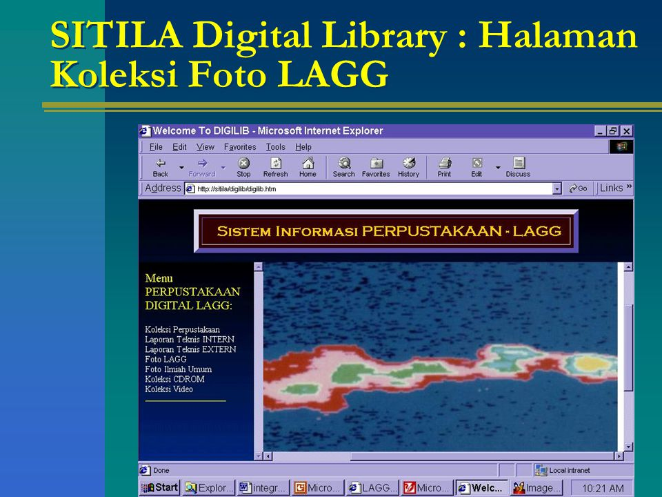 SITILA Digital Library : Halaman Koleksi Foto LAGG