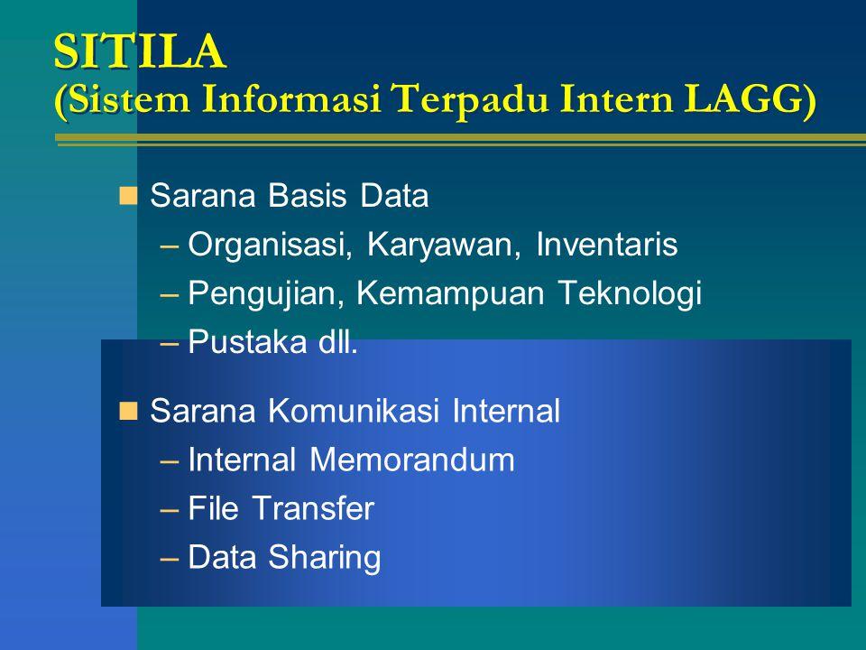 SITILA (Sistem Informasi Terpadu Intern LAGG)