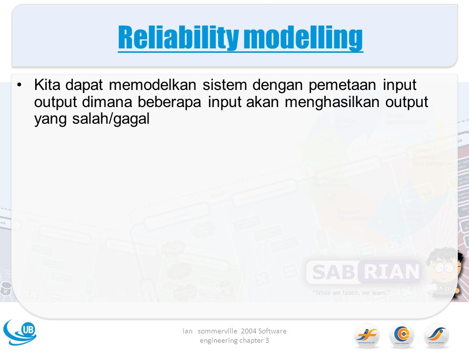Reliability modelling