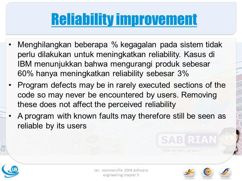 Reliability improvement