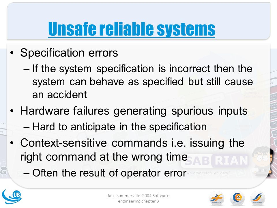 Unsafe reliable systems