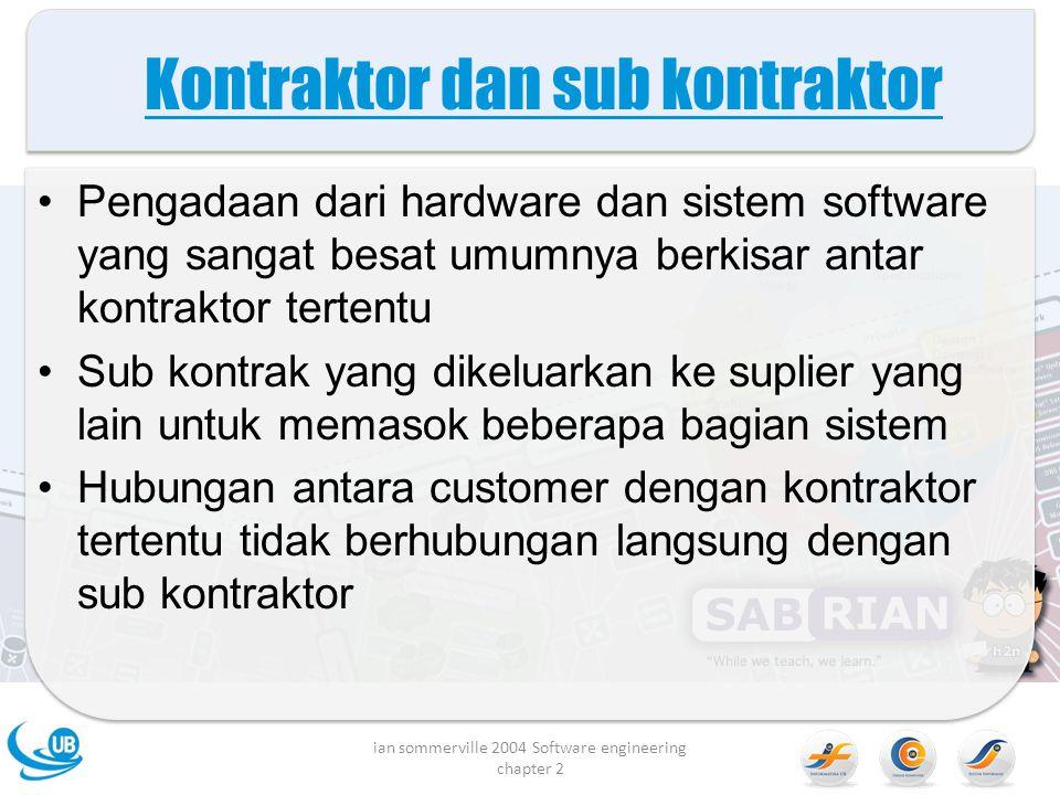 Kontraktor dan sub kontraktor