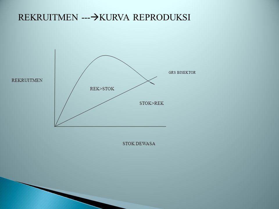 REKRUITMEN ---KURVA REPRODUKSI