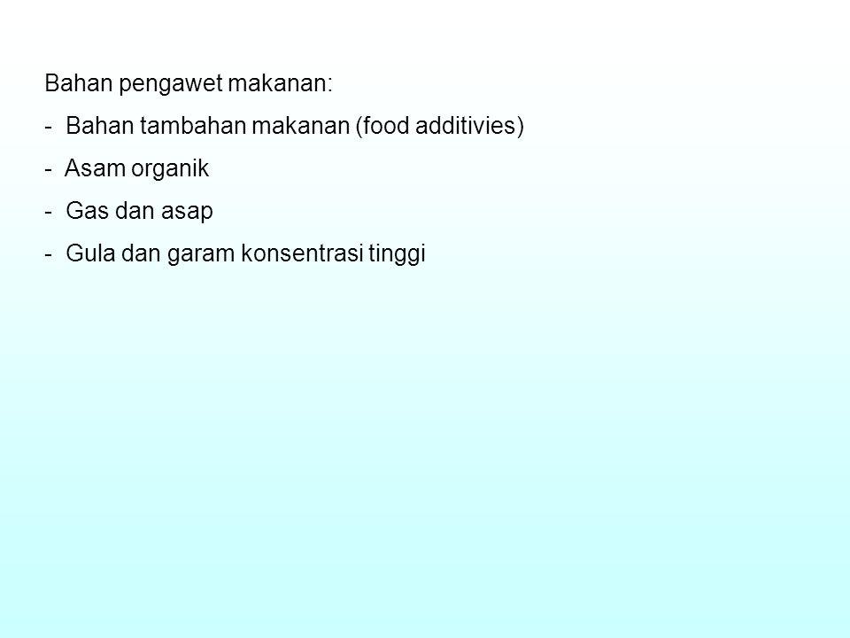 Bahan pengawet makanan: