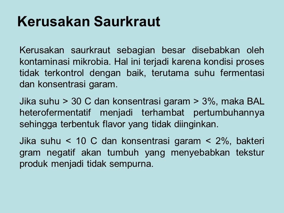 Kerusakan Saurkraut