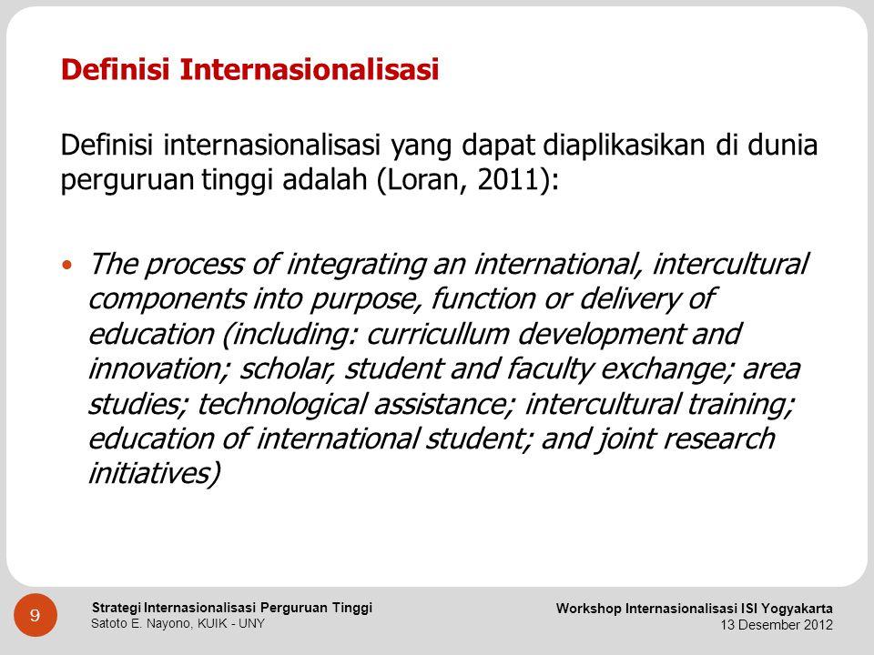 Definisi Internasionalisasi