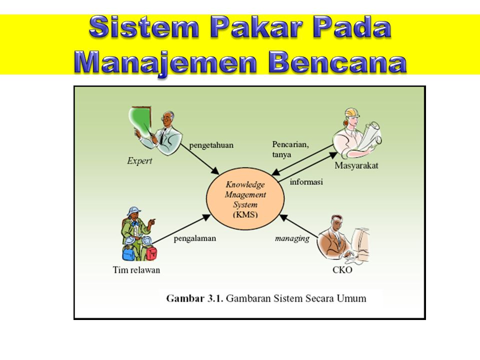Sistem Pakar Pada Manajemen Bencana