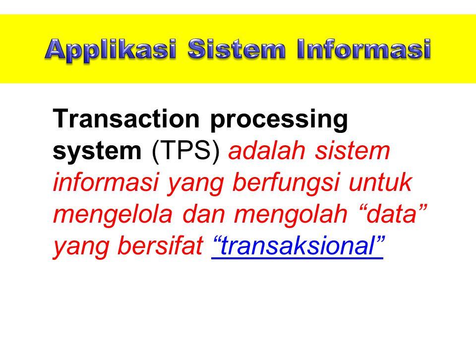 Applikasi Sistem Informasi