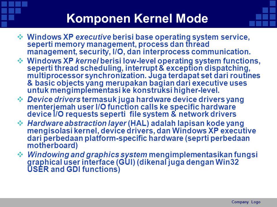 Komponen Kernel Mode