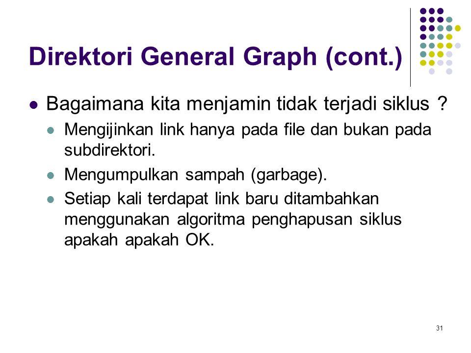 Direktori General Graph (cont.)