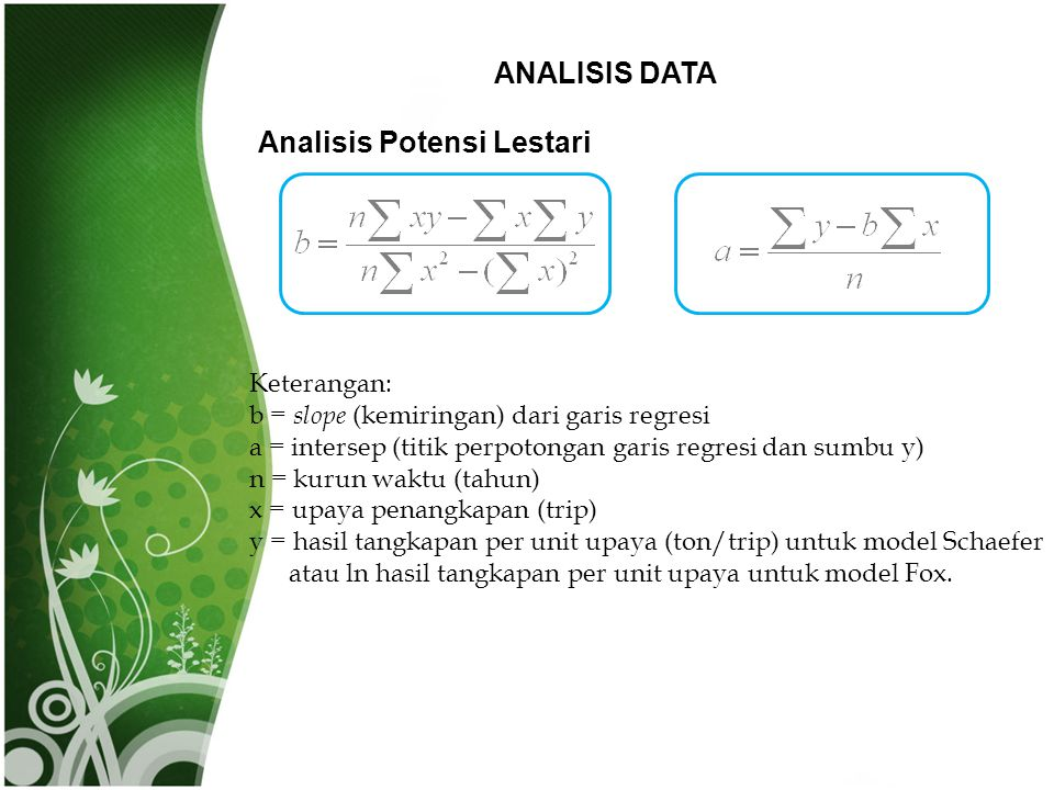 Analisis Potensi Lestari