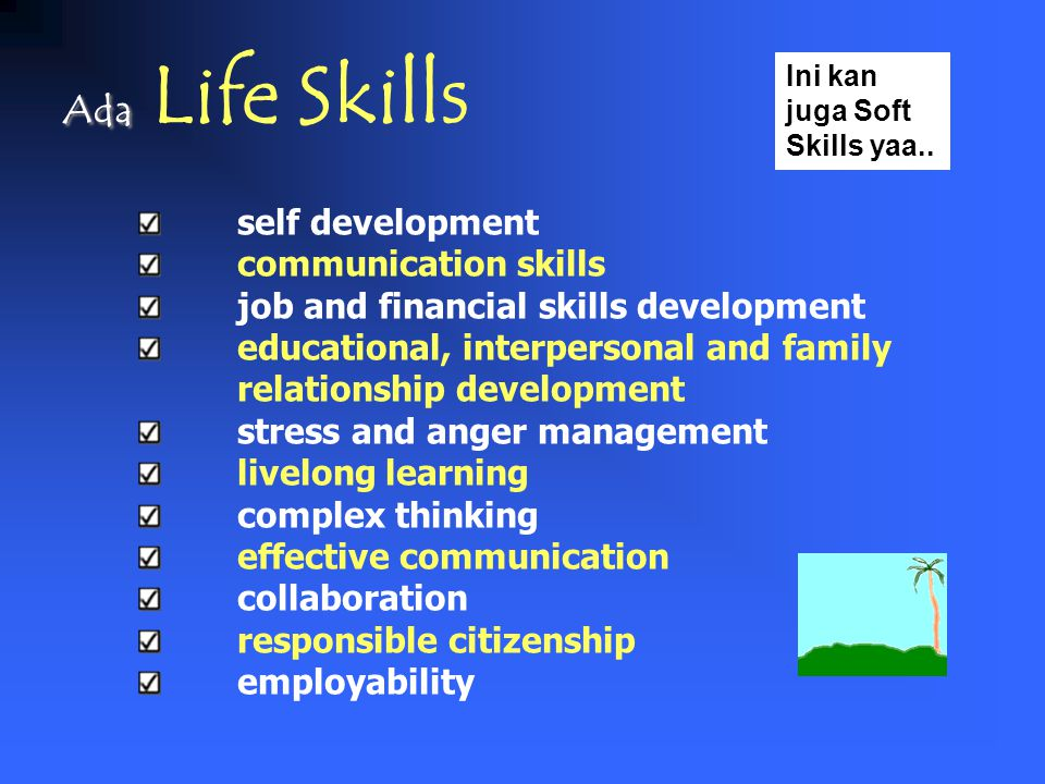 Ada Life Skills self development communication skills