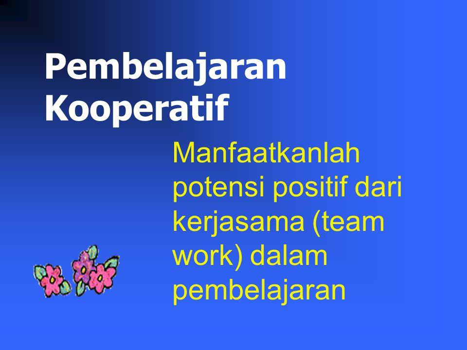 Pembelajaran Kooperatif