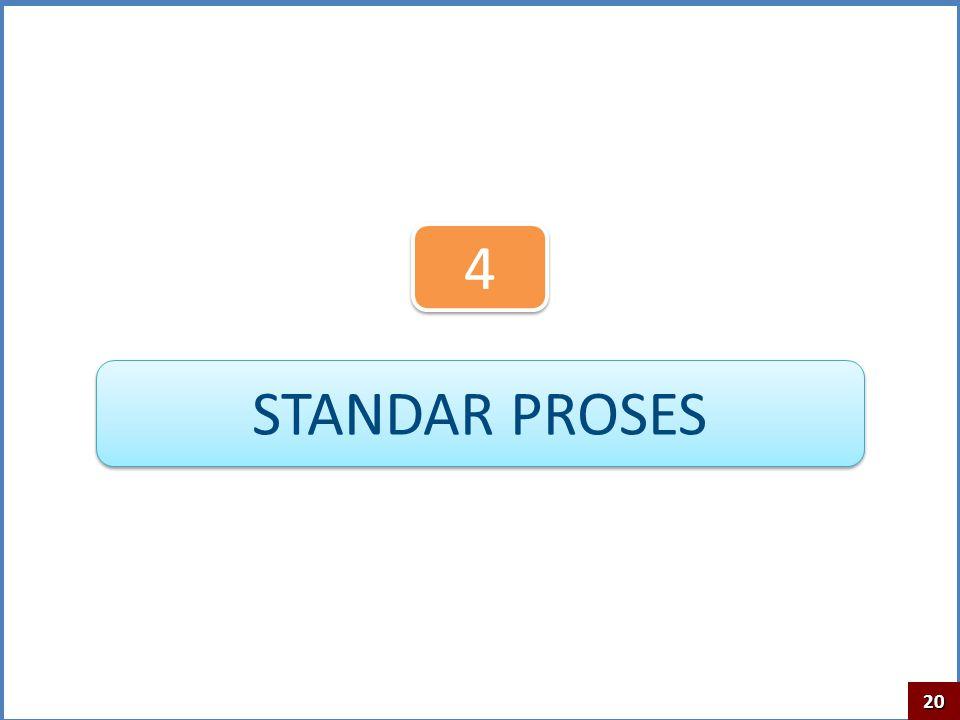 4 STANDAR PROSES 20