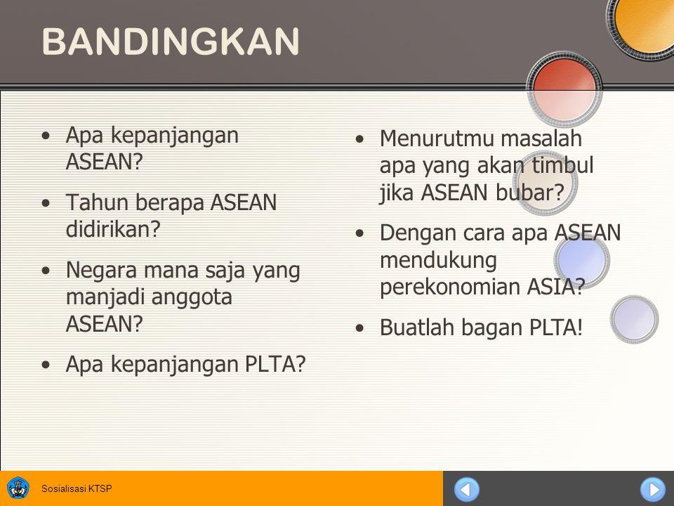BANDINGKAN Apa kepanjangan ASEAN