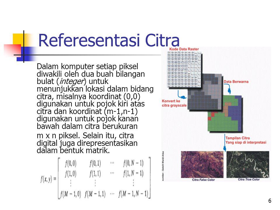 Referesentasi Citra