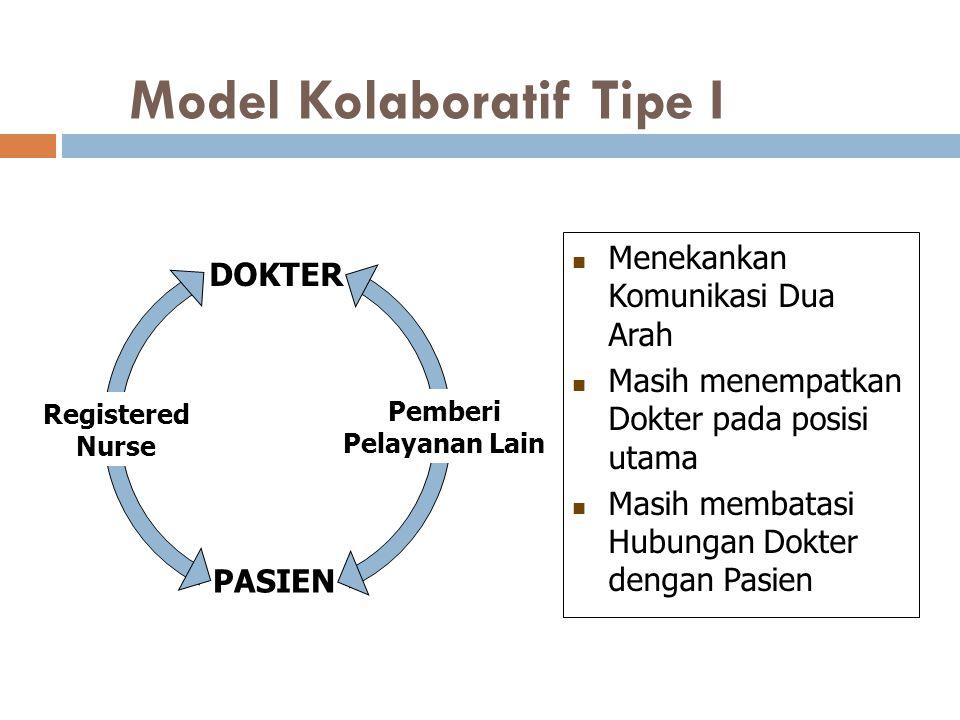 Model Kolaboratif Tipe I