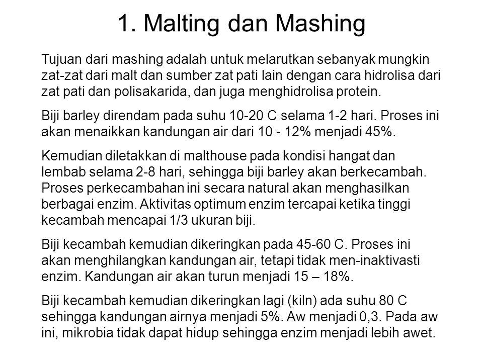 1. Malting dan Mashing