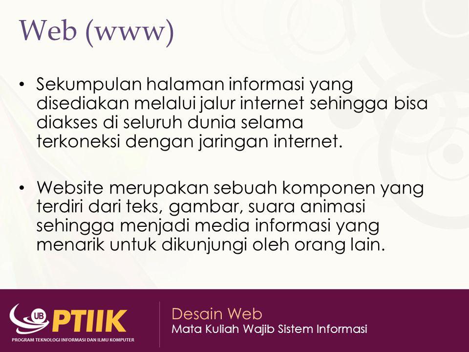 Web (www)