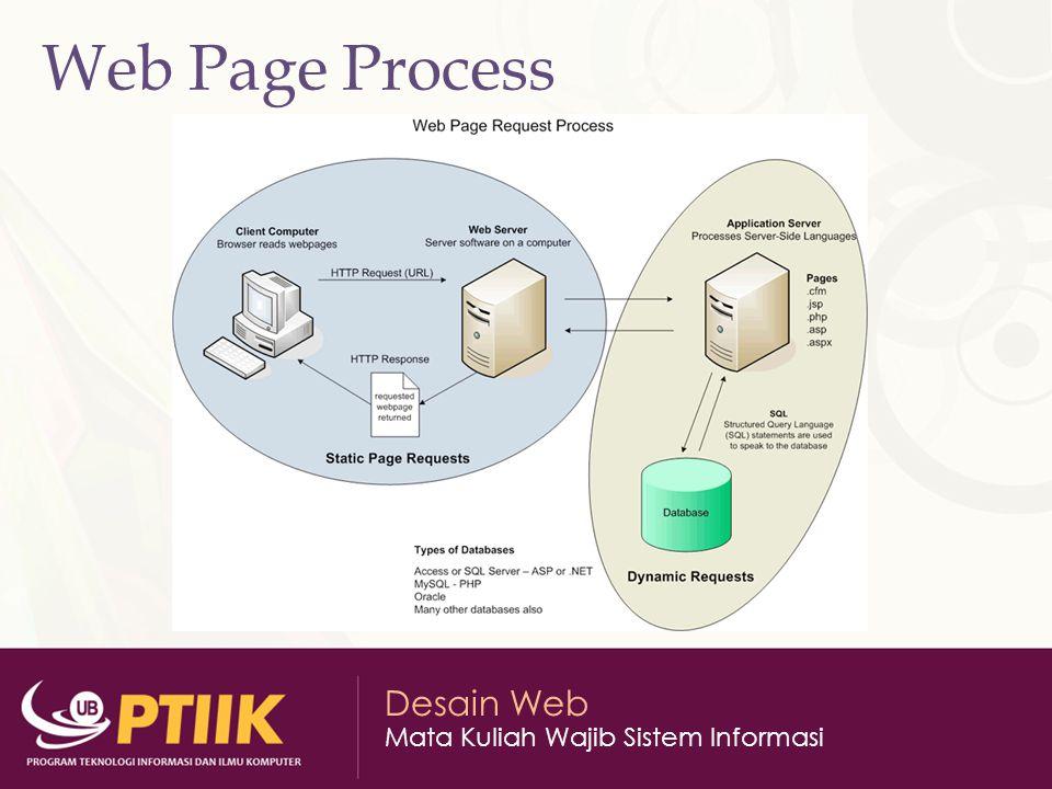 Web Page Process