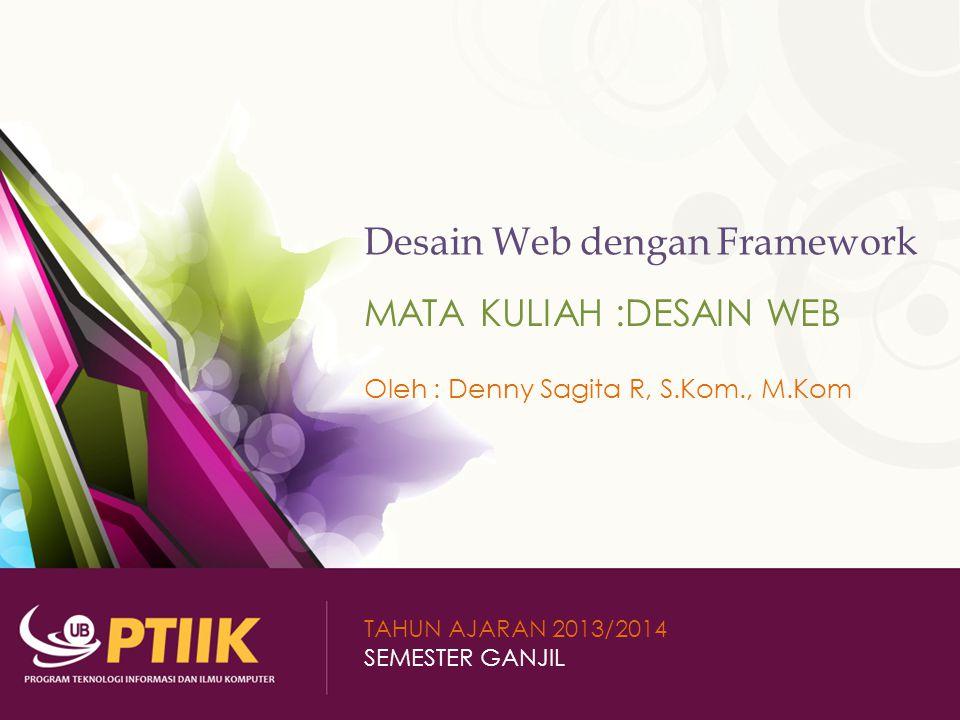 Desain Web dengan Framework