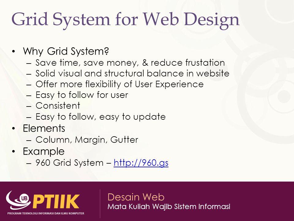 Grid System for Web Design