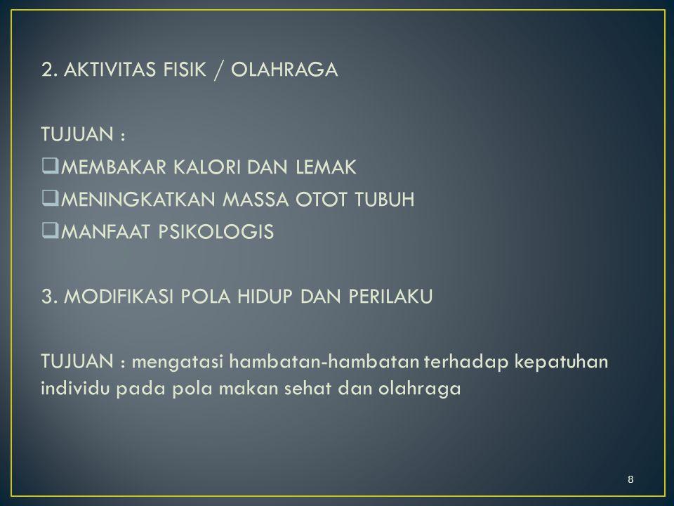 2. AKTIVITAS FISIK / OLAHRAGA
