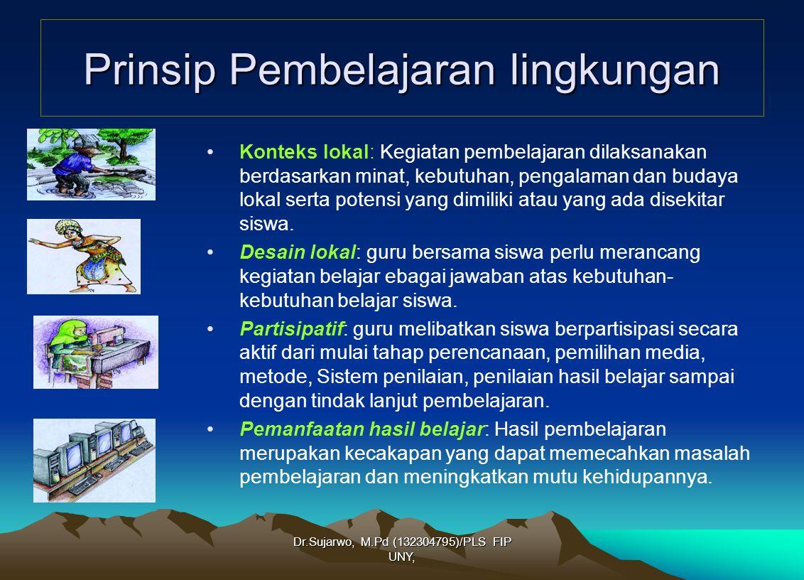 Prinsip Pembelajaran lingkungan