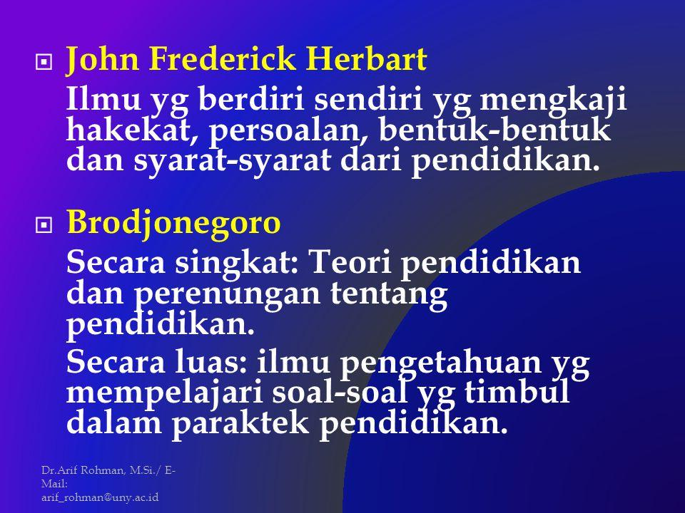 John Frederick Herbart