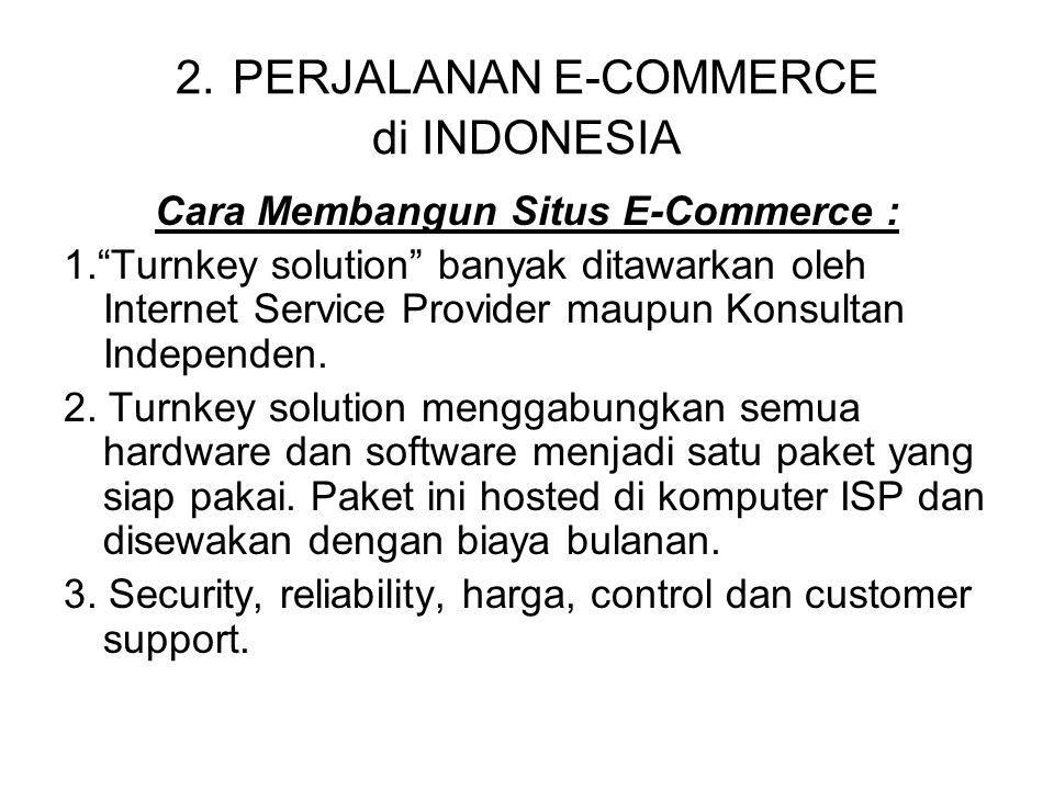 2. PERJALANAN E-COMMERCE di INDONESIA