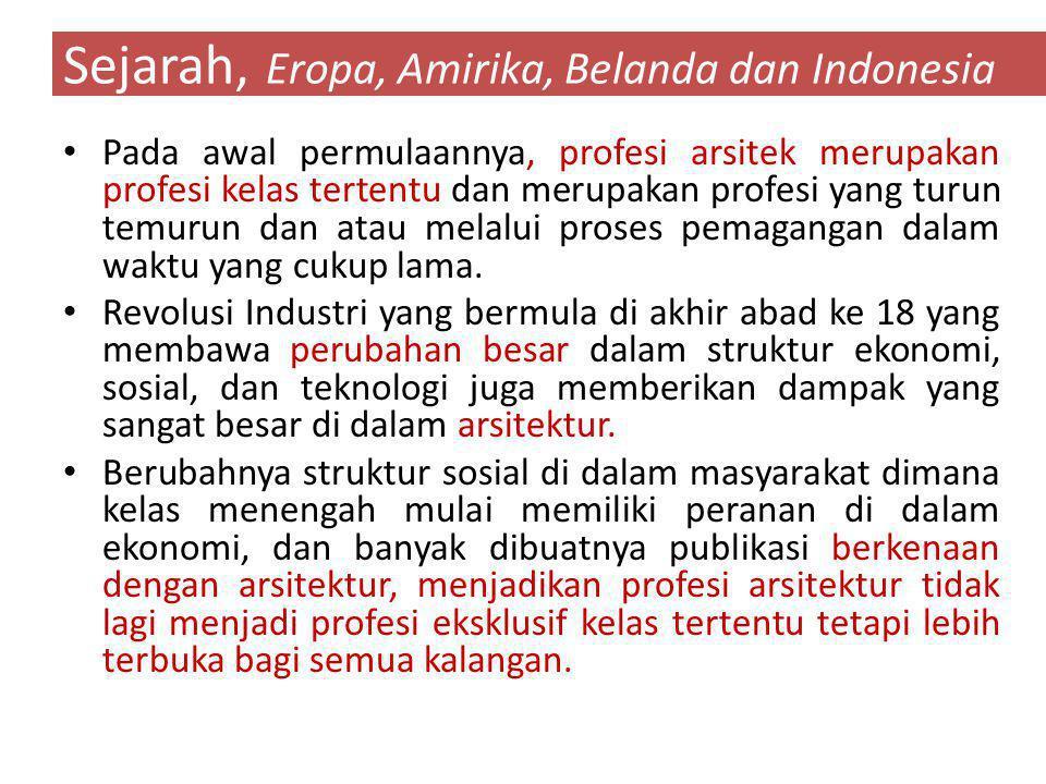 Sejarah, Eropa, Amirika, Belanda dan Indonesia