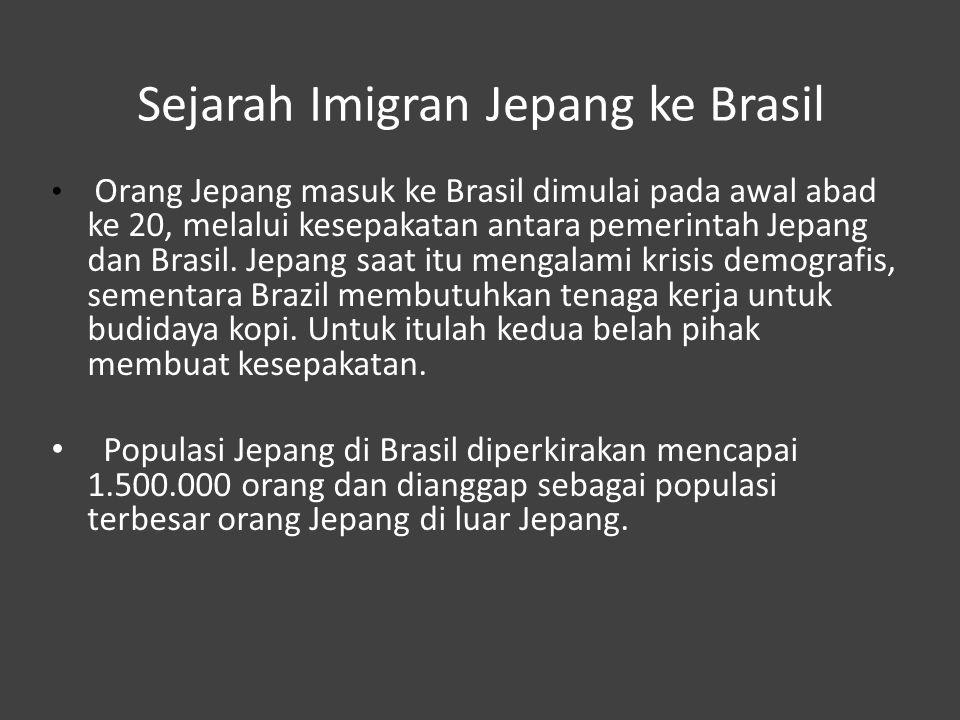Sejarah Imigran Jepang ke Brasil