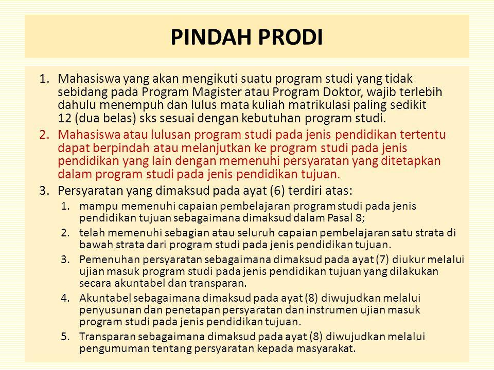 PINDAH PRODI