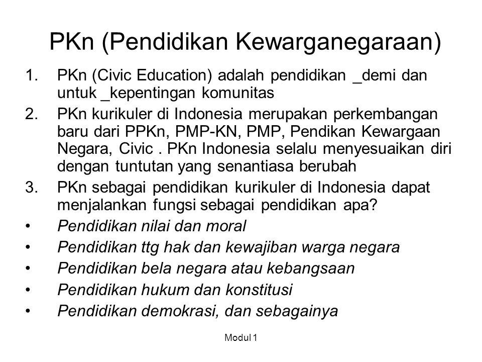 PKn (Pendidikan Kewarganegaraan)