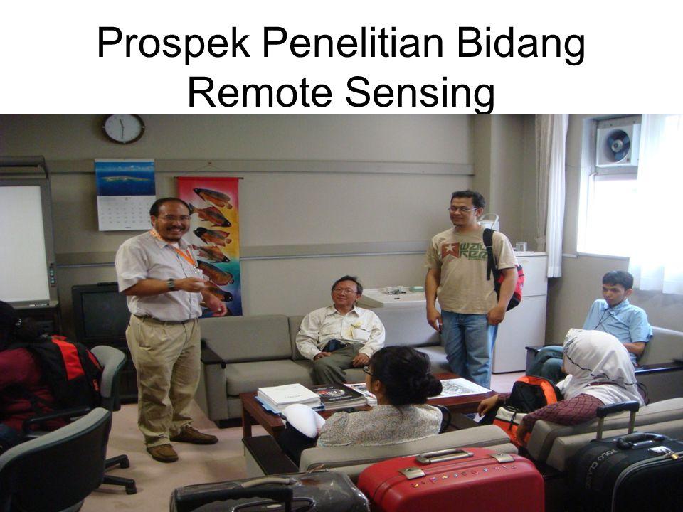 Prospek Penelitian Bidang Remote Sensing