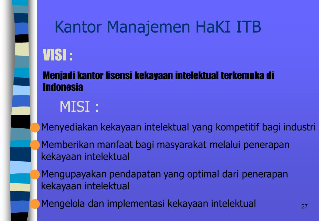 Kantor Manajemen HaKI ITB