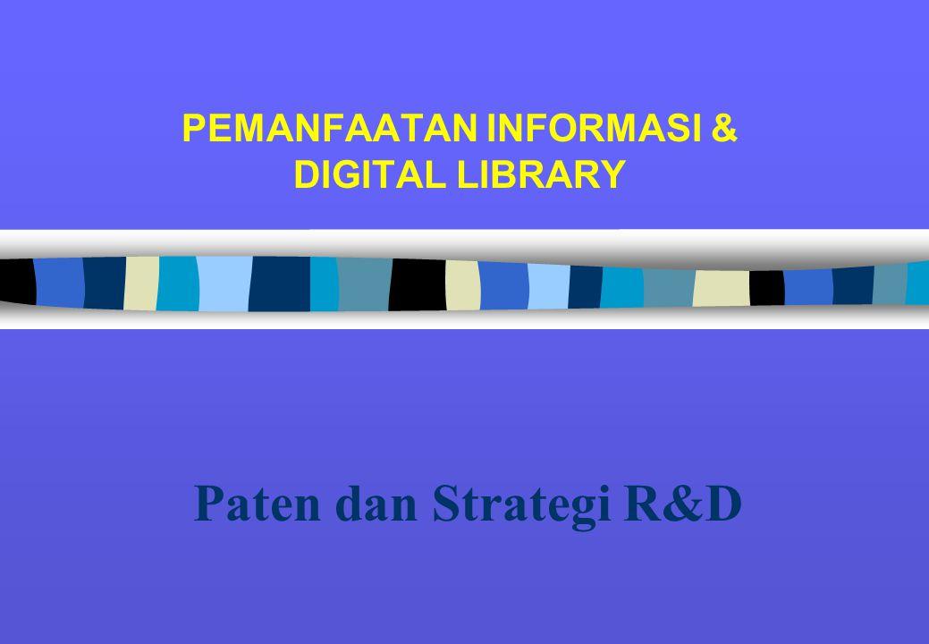 PEMANFAATAN INFORMASI & DIGITAL LIBRARY