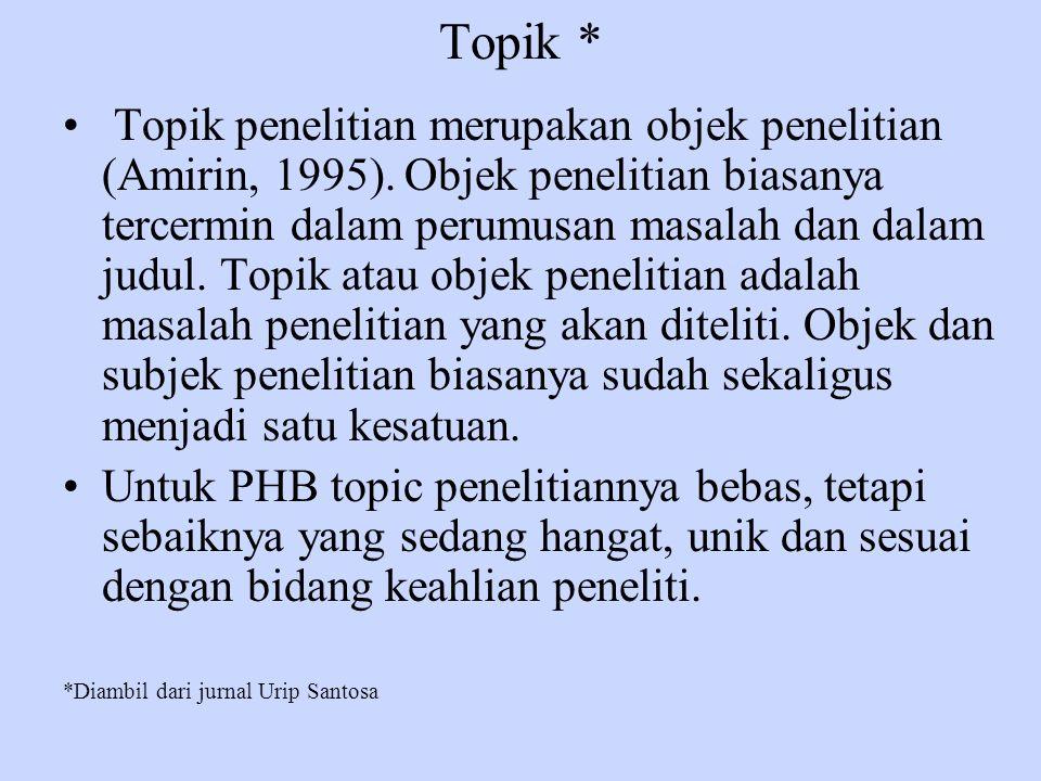 Topik *